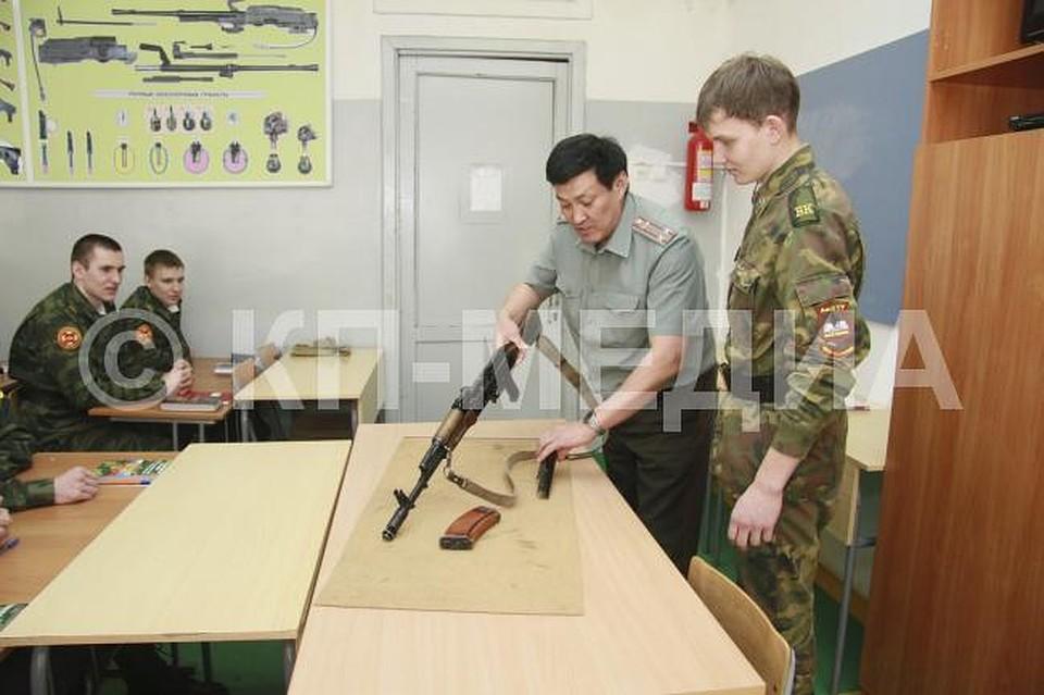 Снового учебного года вТГУ им.Державина будет работать военная кафедра