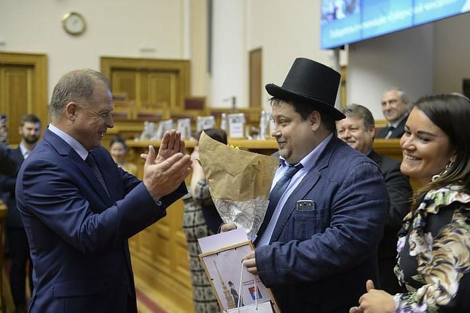 Полтавченко представил вСмольном «арктического» вице-губернатора