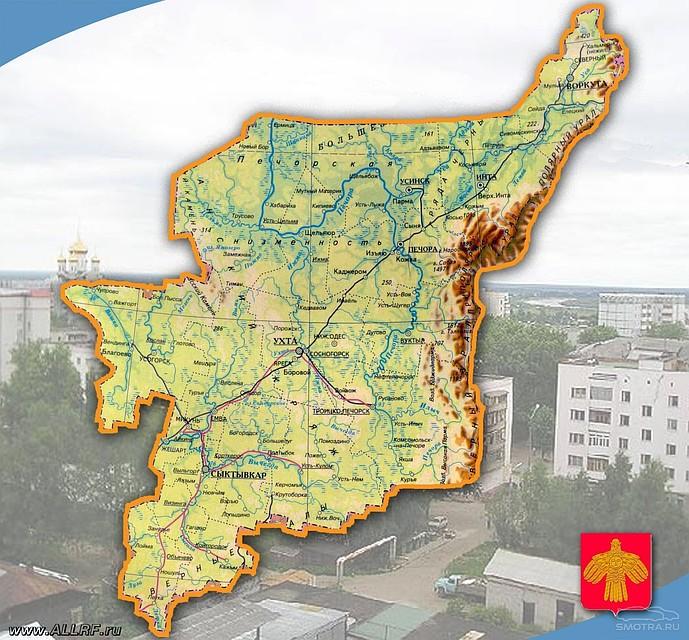 Кадастровая палата уточнила границы между Пермским краем иреспубликой Коми