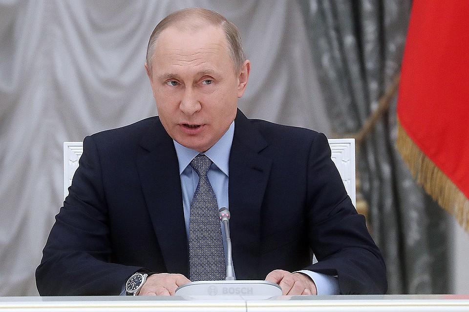 Путин: объем выданных ипотечных кредитов превысит 2 трлн руб. в 2017-ом году