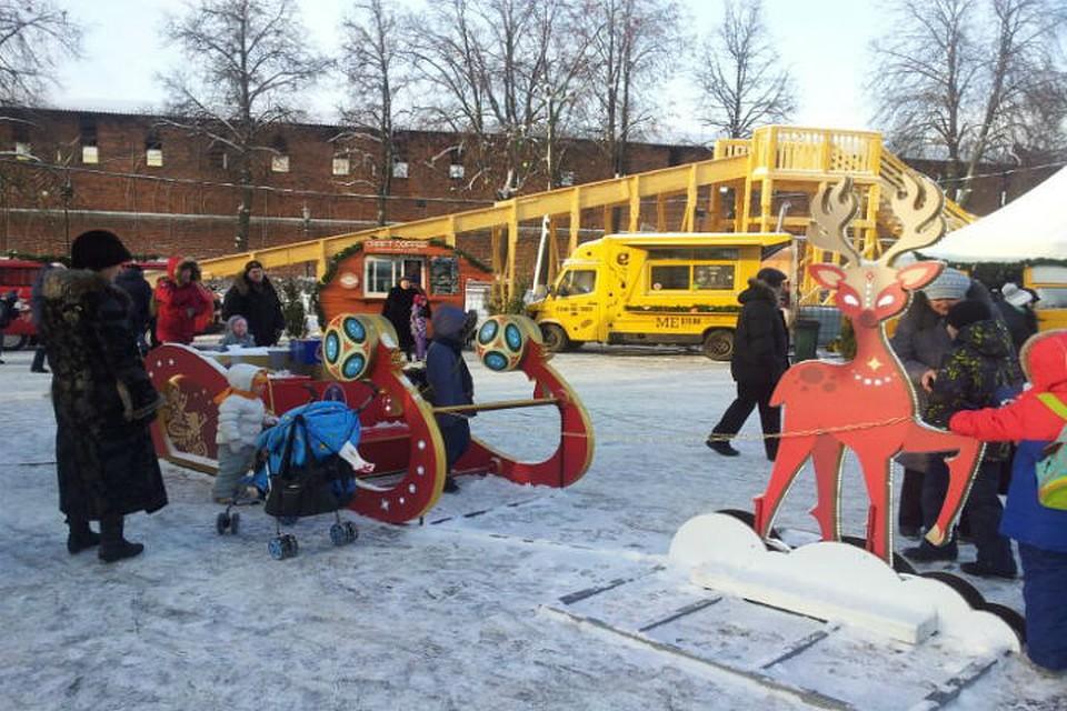 ВНижнем Новгороде откроется центральная площадка новогоднего фестиваля «Горьковская елка»