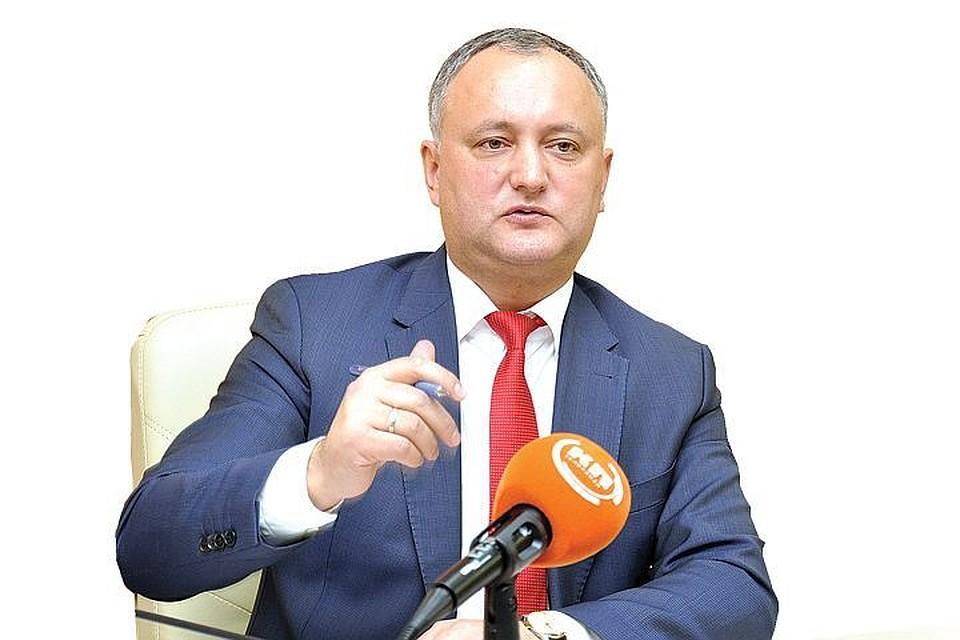 Президент Молдавии пожелал РФ удачи впроведенииЧМ