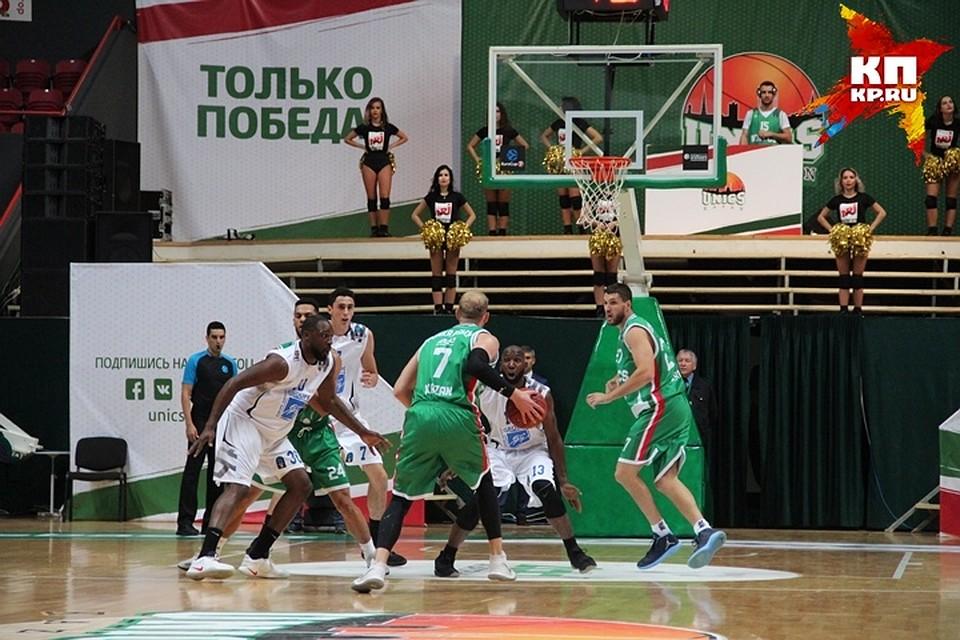 УНИКС победил «Торино» вматче Еврокубка