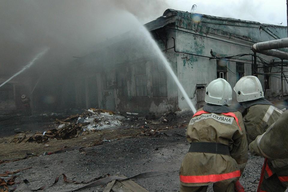 ВБрянской области врезультате сильного возгорания умер мужчина