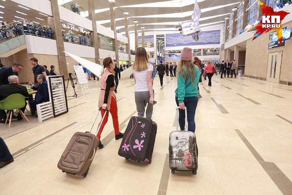 Красноярский аэропорт оштрафовали занарушения встаром терминале