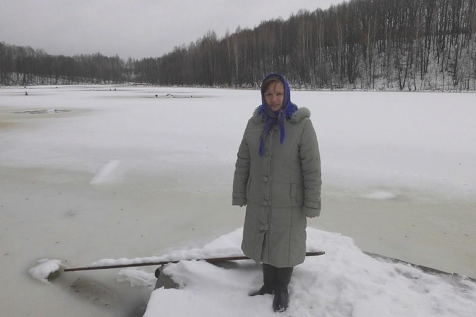 ВУнечском районе женщина спасла упавшего возеро соседа