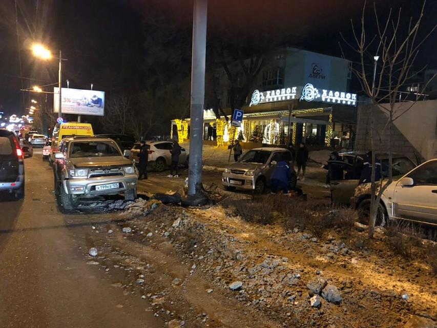 Жуткое массовое ДТП воВладивостоке забрало жизнь пассажирки