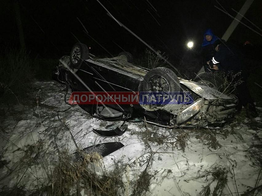 ВДТП под Уфой перевернулись два автомобиля, есть пострадавшие