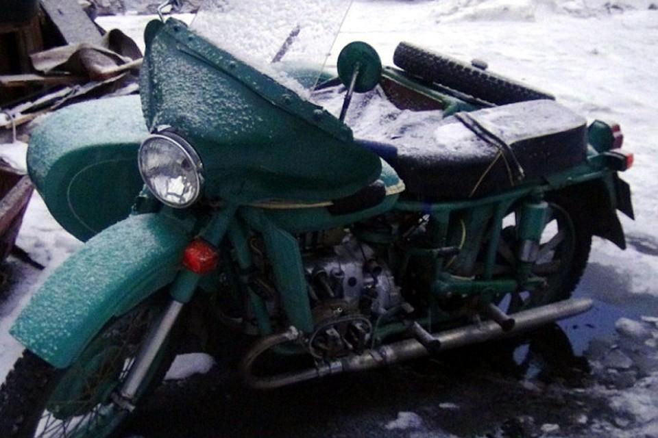 ВУдомле полицейские раскрыли кражу мотоцикла игаража