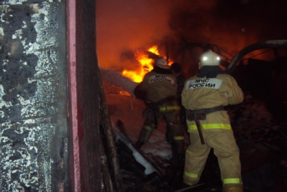 ВРостовской области впожаре в личном доме пострадал его владелец