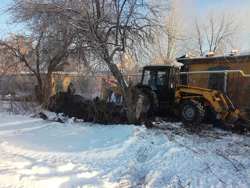 Под Уфой прорвало трубопровод, снабжающий теплом 4 дома
