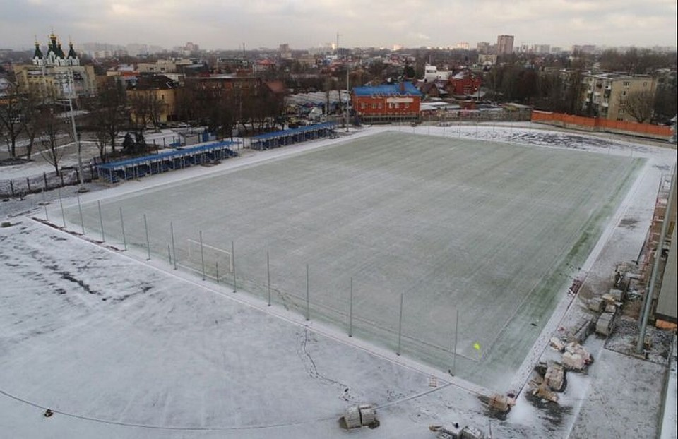 Наблагоустройство территории устадиона «Локомотив» было выделено 9,5 млн руб.