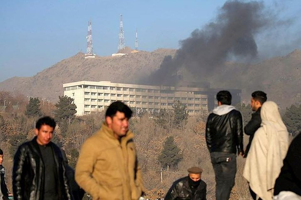 При нападении на отель в Кабуле погибли 14 иностранцев и четверо афганцев