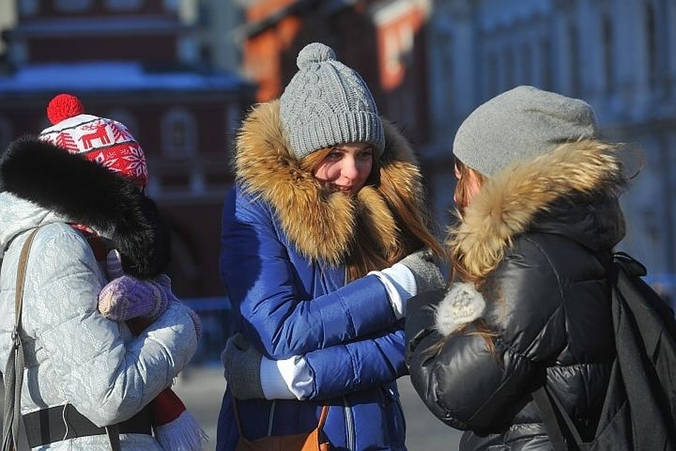 Морозы встолице отступят кконцу рабочей недели