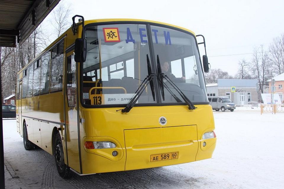Новые ученические автобусы выполнили первые рейсы вПсковской области
