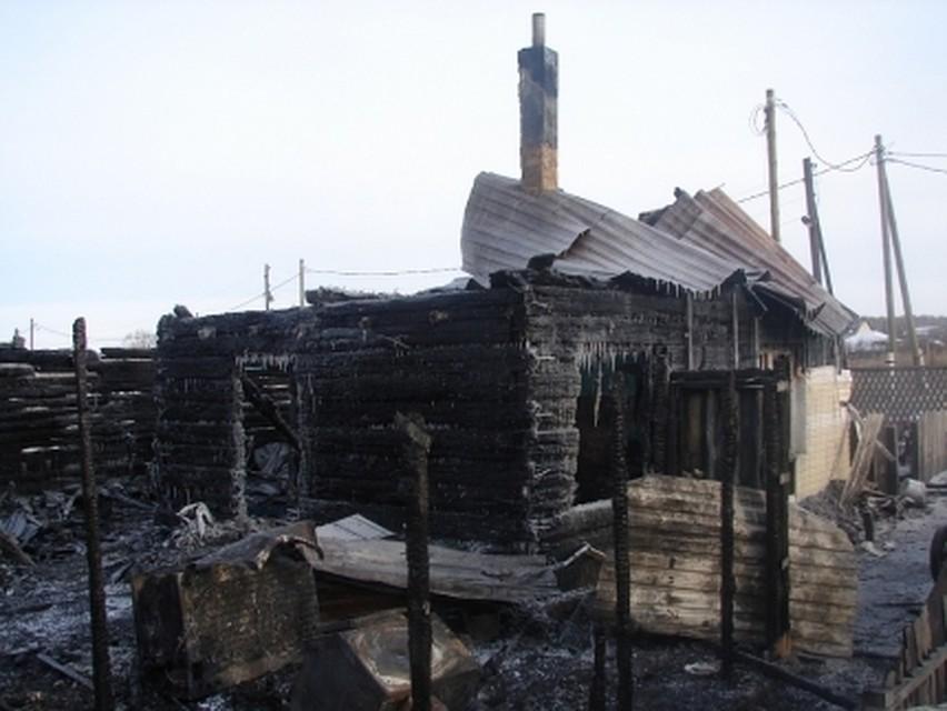 ВСосновском районе пожар оставил многодетную семью без жилья