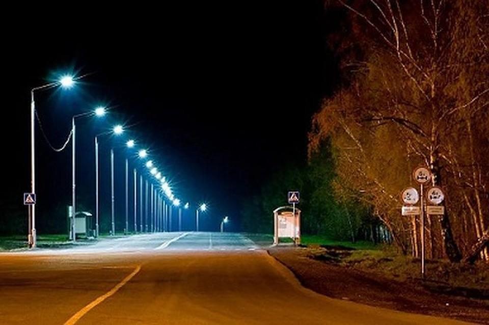 ВНовосибирске мэрию вынудят осветить участок Гусинобродского шоссе