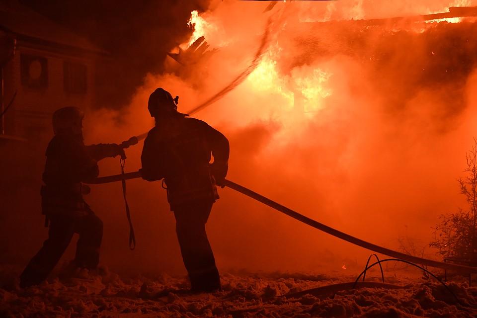 Пожар нанефтебазе вСерпухове удалось локализовать