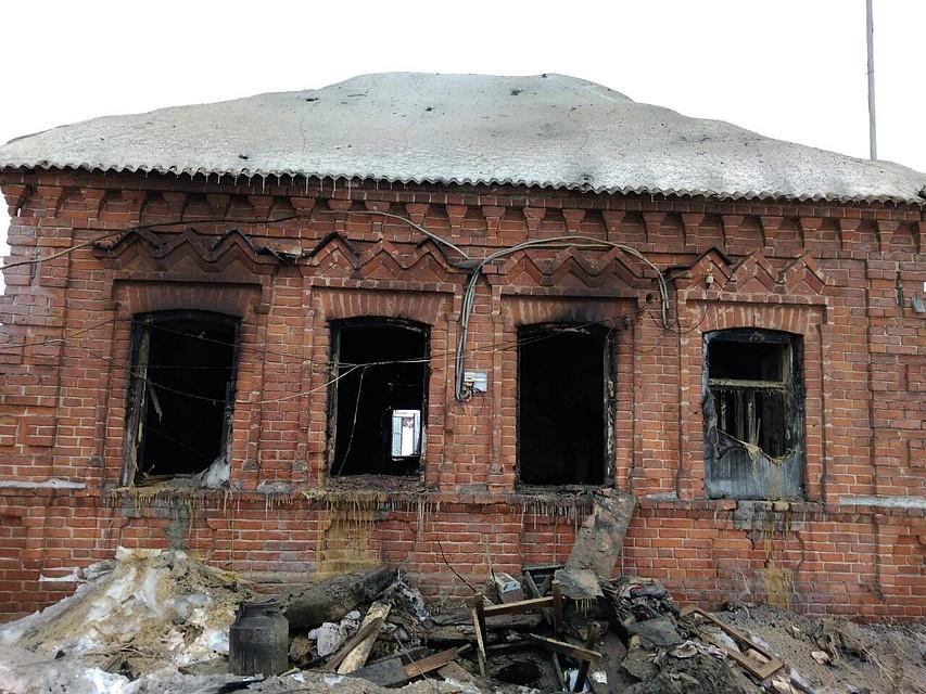 ВУльяновской области впожаре женщина получила сильные ожоги