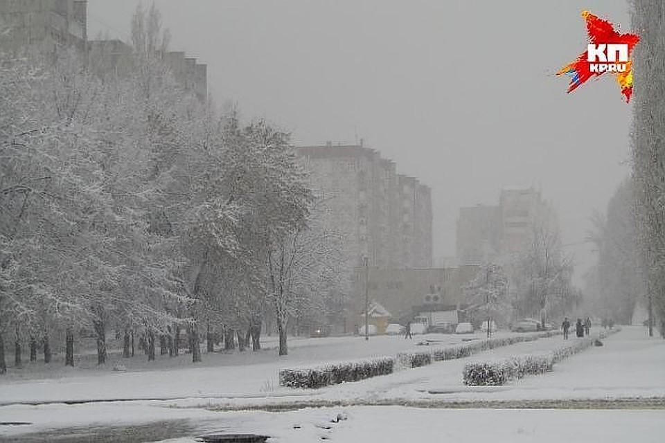 Небольшой снег идо-11 градусов будет сегодня вКазани
