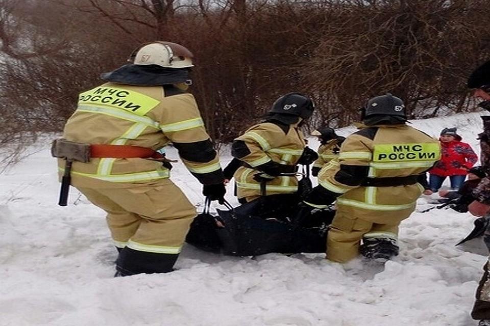 Ребенок умер под снежной лавиной вТатарстане