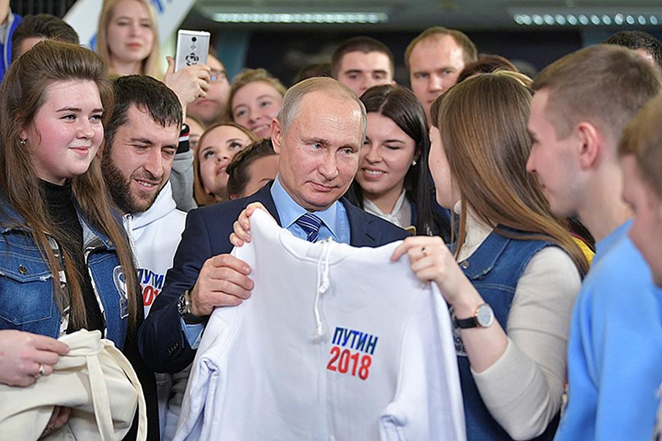 ЦИК зарегистрировал В. Путина кандидатом напост Российского Президента
