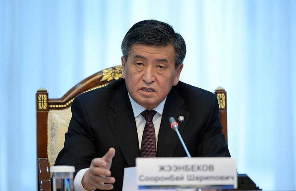 Сооронбай Жээнбеков: Госструктуры, призванные сражаться скоррупцией, сами погрязли вней