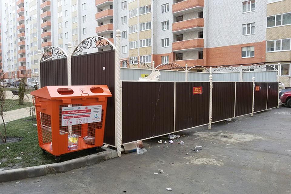 Контейнеры для раздельного сбора мусора устанавливают вСтаврополе