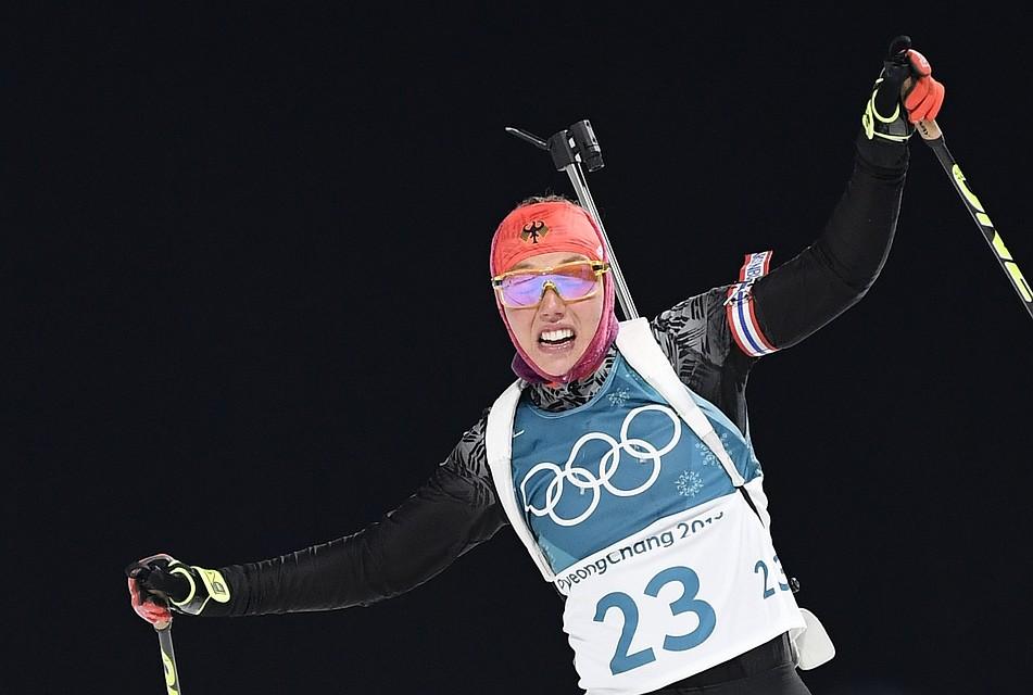Лаура Дальмайер- олимпийская чемпионка 2018 года в спринте
