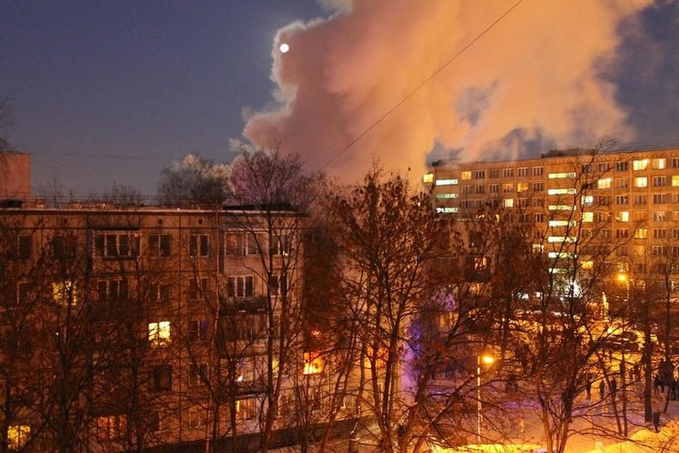 Вдоме вПетербурге произошел взрыв