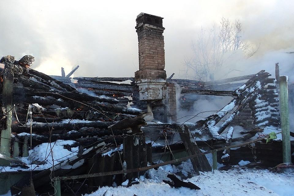 При пожаре втатарстанском селе погибли три человека