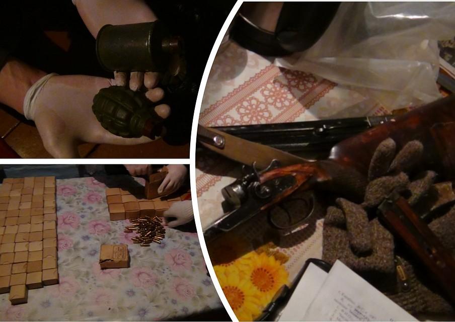 Ужителя Челябинской области изъяли 1 000 патронов и10 гранат
