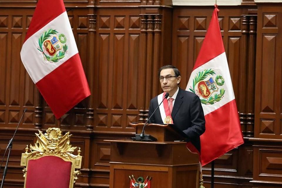 ВПеру вступил вдолжность новый президент Мартин Вискарра