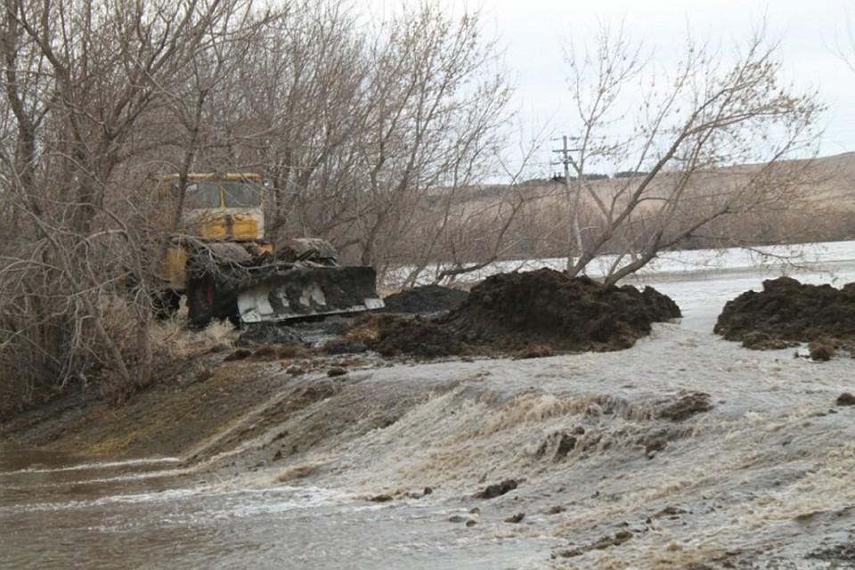 Тысячи домов были подтоплены паводком наАлтае