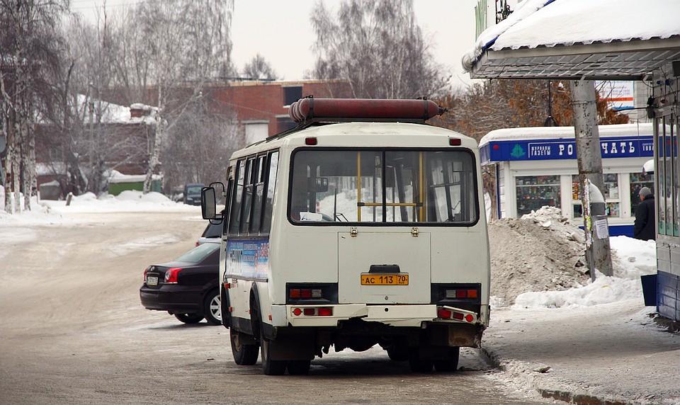 ВТомске полицейские задержали мужчину заугон автобуса