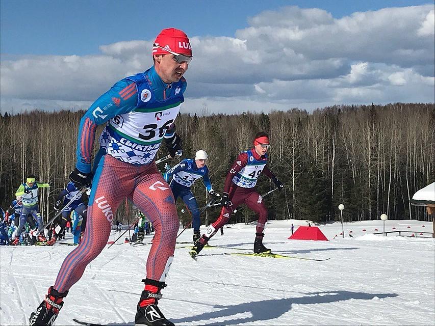 Лыжник Мальцев одержал победу масс-старт на50км начемпионате РФ