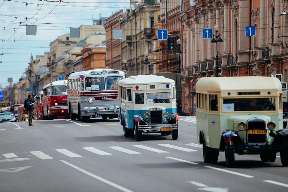 Вконце мая вПетербурге пройдет парад ретро-транспорта