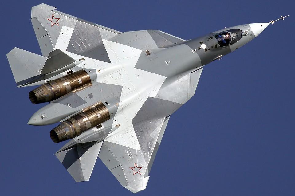 Русские истребители 5-ого поколения Су-57 примут участие впараде Победы