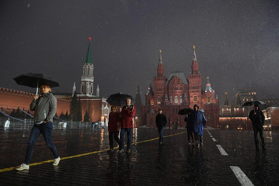 Ввоскресенье в столице России ожидаются похолодание инебольшой снег