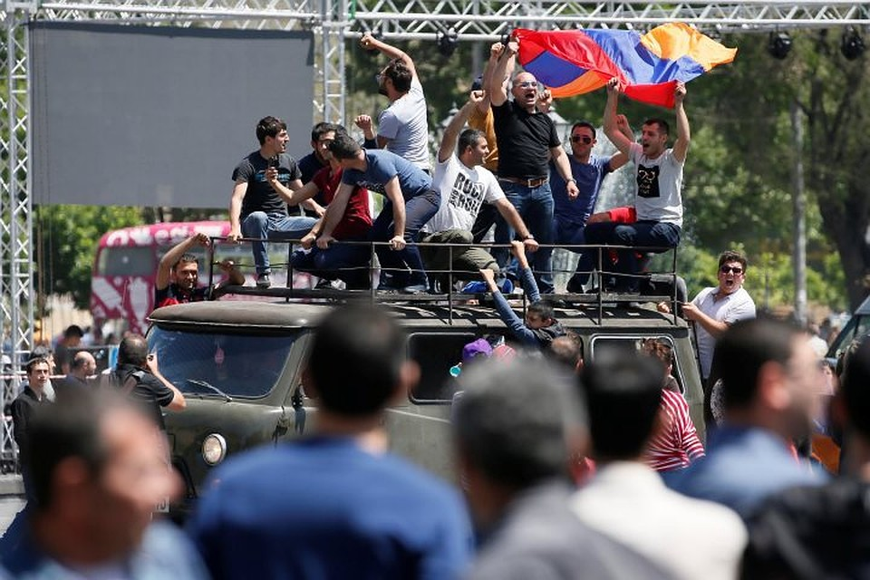 Впарламенте Армении народные избранники бойкотируют совещание