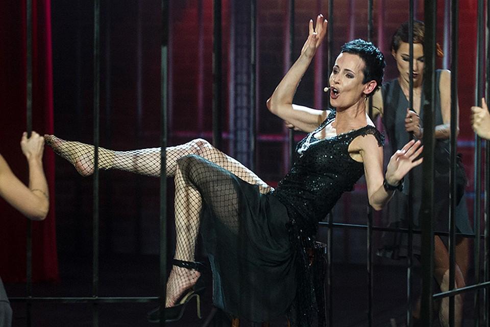 Ирина Апексимова сломала ногу вовремя съемок