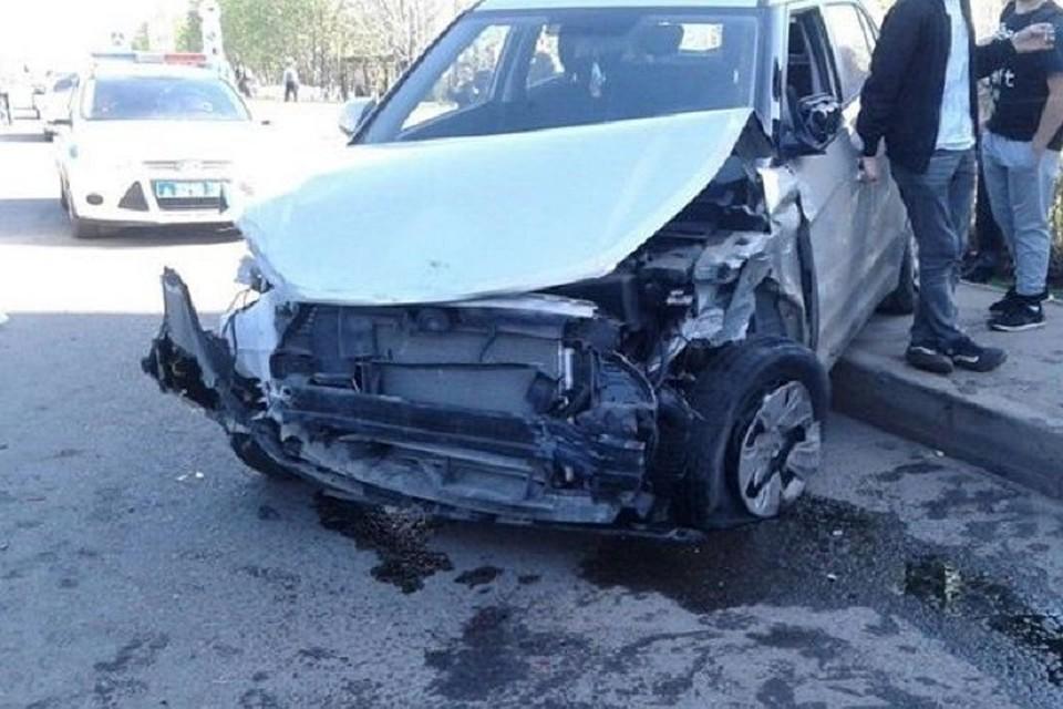 Неадекватный шофёр протаранил 12 машин вНабережных Челнах