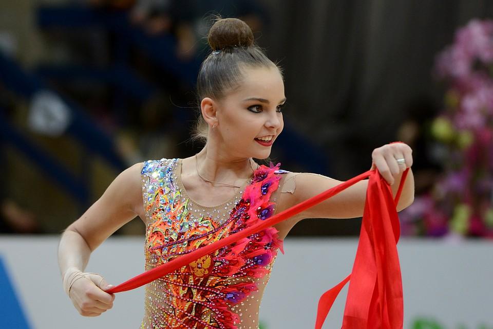 Русские гимнастки заняли весь пьедестал наэтапе Гран-при вХолоне