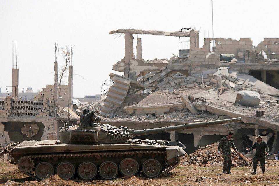 МИД Сирии направил письма впредставительстве международной организации ООН всвязи сбомбардировками коалиции США