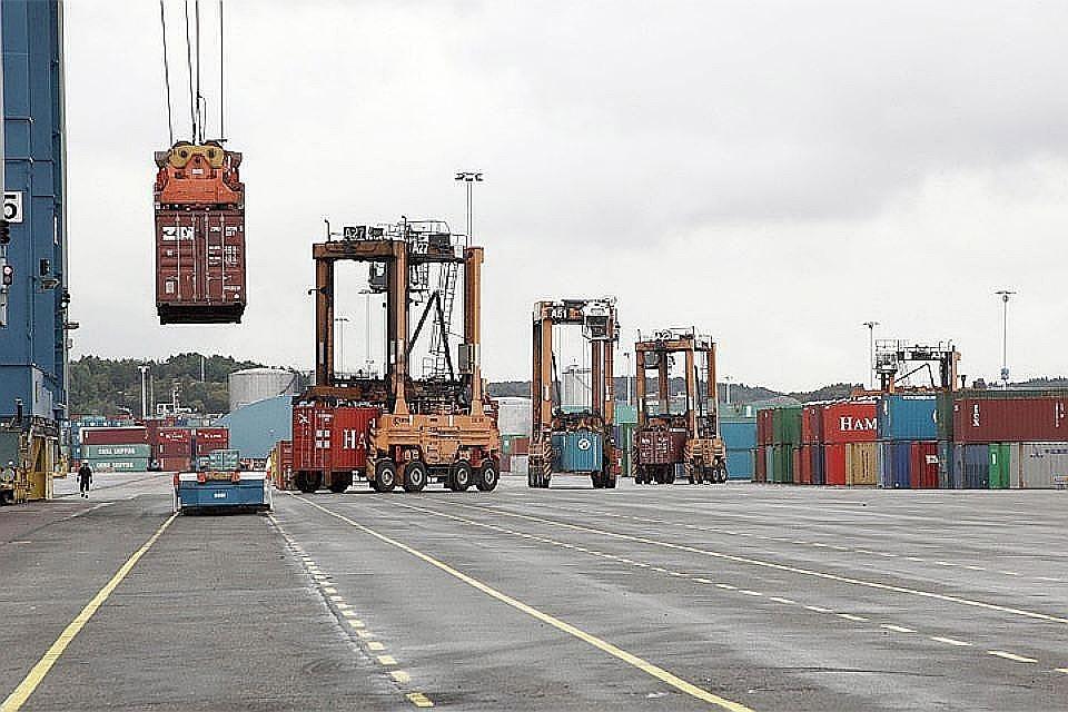 Норвежский танкер получил пробоину в итоге столкновения спирсом впорту Роттердама