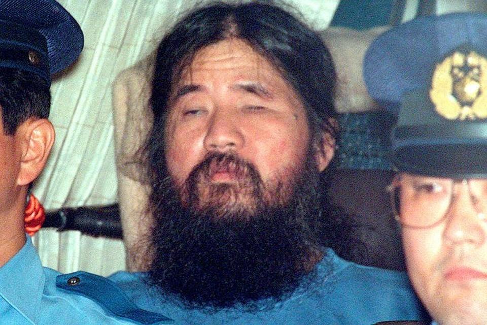 ВЯпонии казнили лидера секты «Аум Синрике», который совершил масштабный теракт