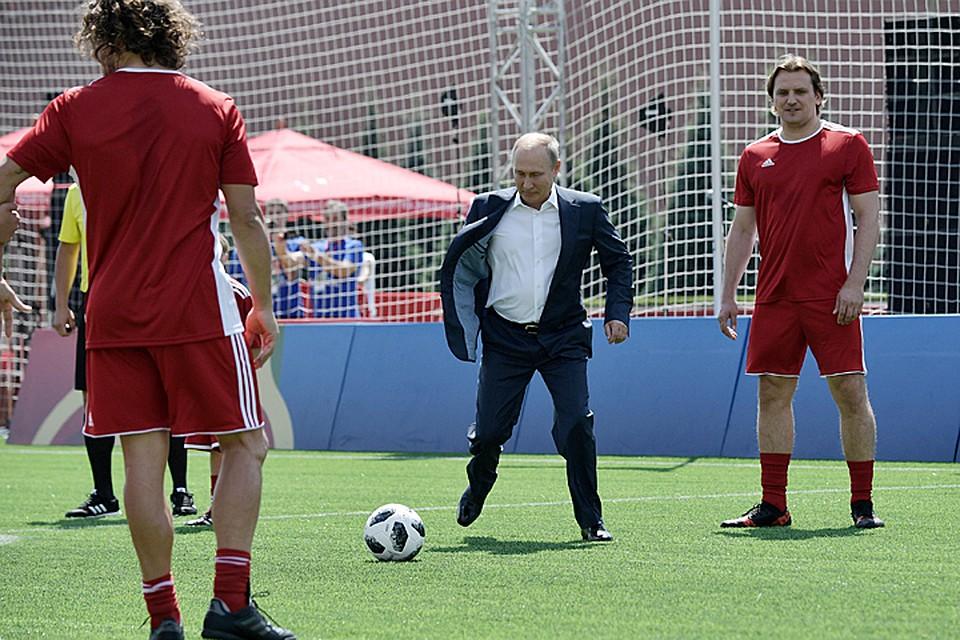 Владимир Путин фактически пренебрегает чемпионат мира пофутболу