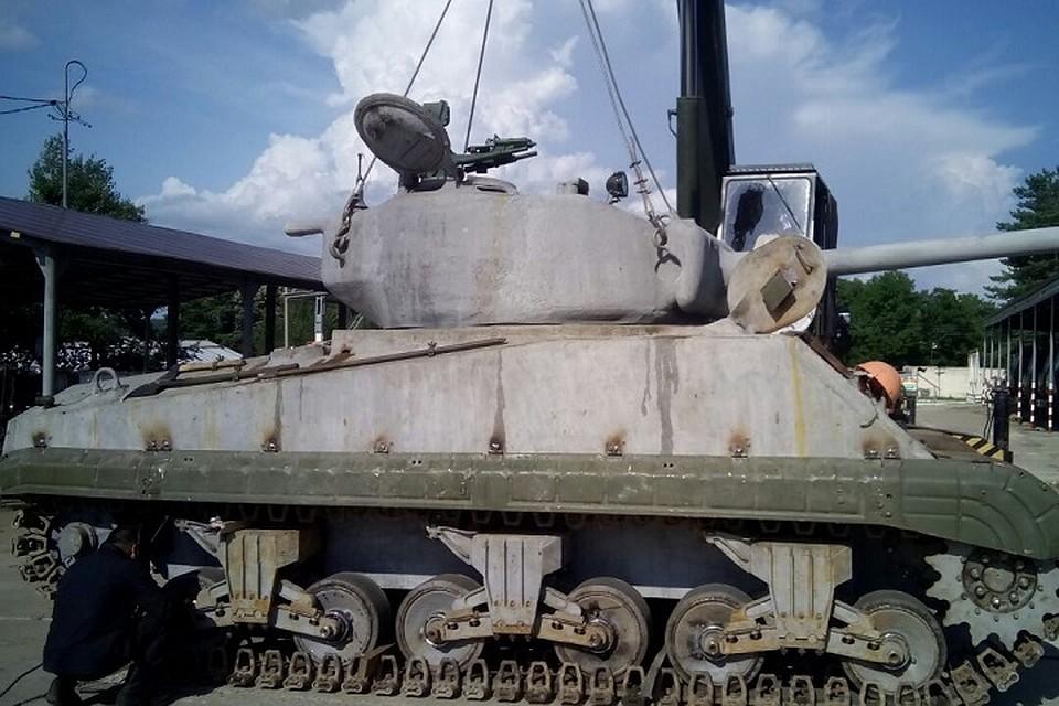 Американский танк «Шерман» привезут вХабаровск кюбилею ВВО