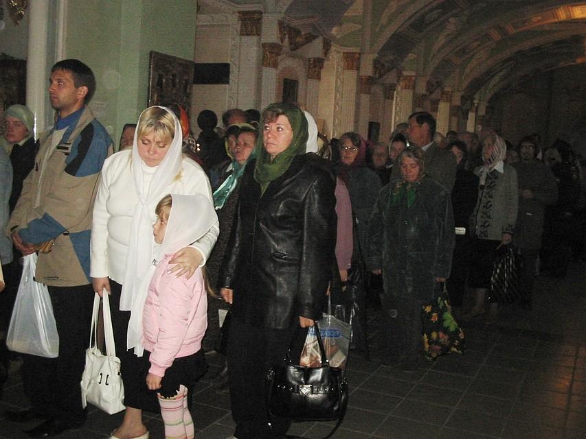 ВКурской области прошел крестный ход сиконой Божией Матери «Троеручица»