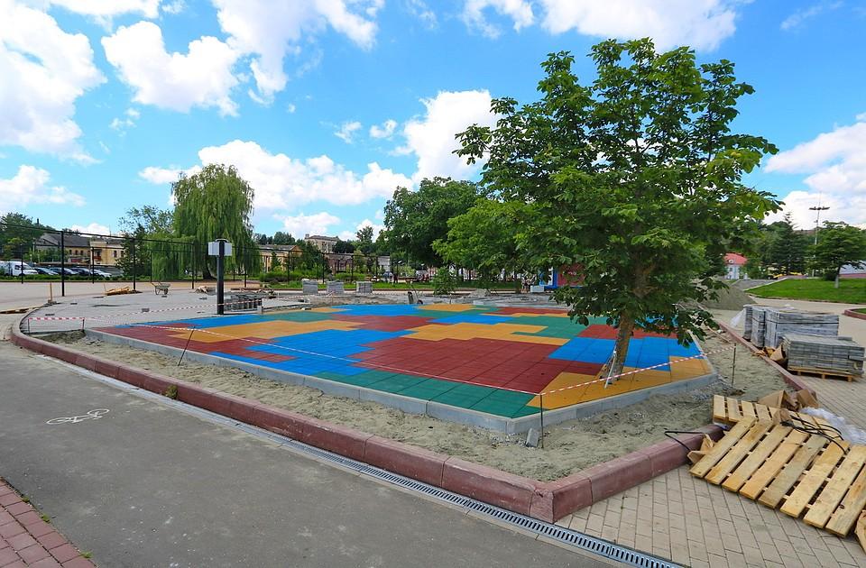 Набрянской Набережной появится детский городок